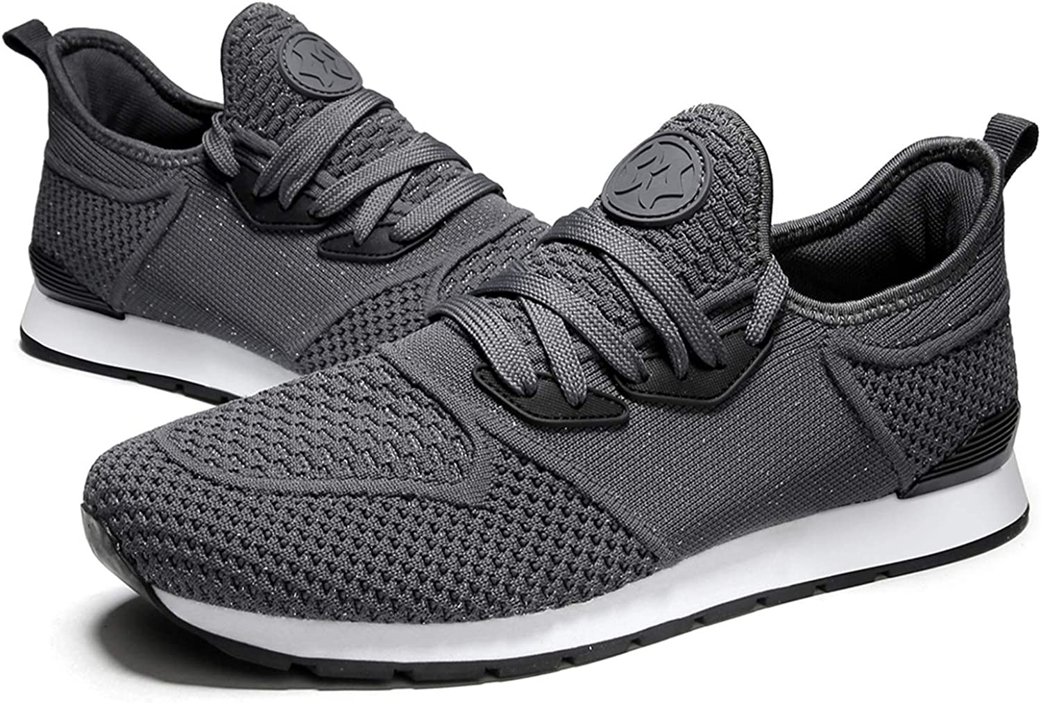 Womens Trainers Mens Sneakers Lightweight Running Shoes Gym Sport Fitness Walking Shoes