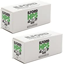 Ilford HP5 Plus Black and White Negative Film ISO 400 (120 Roll Film) 2-Pack