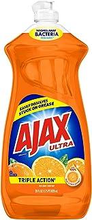 Ajax Triple Action Dish Liquid - Orange, 28 Fluid Ounces