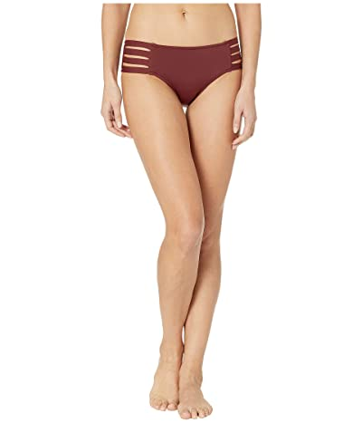Seafolly Fastlane Active Multi Strap Hipster Bottoms (Plum) Women