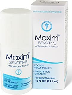 Maxim Sensitive Anti-Perspirant Deodorant Clincal Strength Clear Unscented