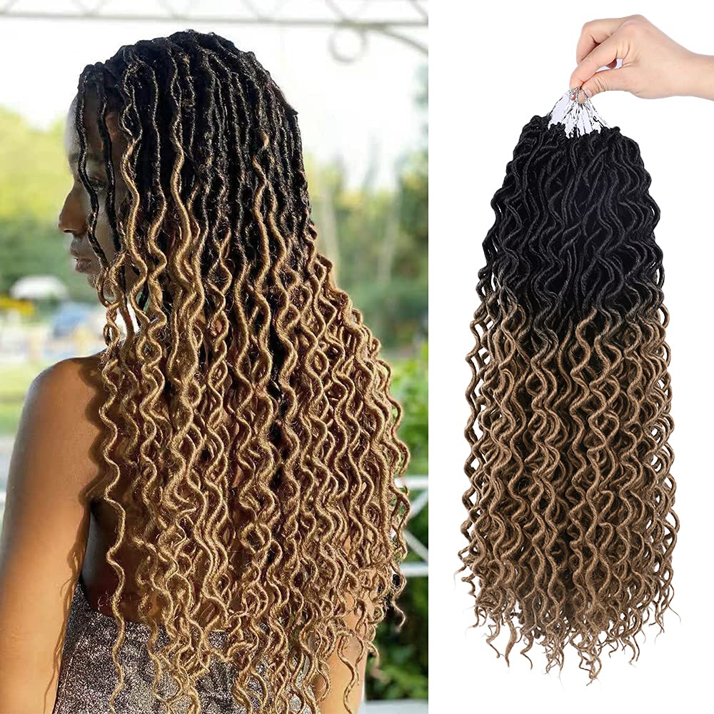 WOGO Complete Free Shipping Beauty 6 Packs Faux Locs Goddess Lo Max 86% OFF Braid Hair Crochet