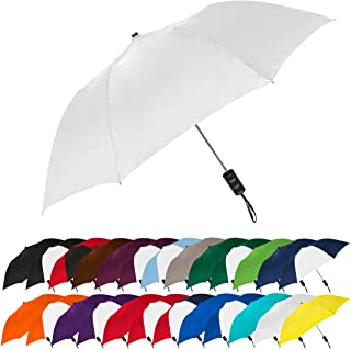 "Sponsored Ad - STROMBERGBRAND UMBRELLAS Spectrum Popular Style 15"" Automatic Open Umbrella Light Weight Travel Folding Umb..."