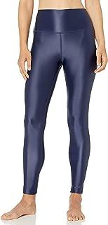 "Amazon Brand - Core 10 Women's Icon Series Liquid Shine High Waist Yoga Legging – 27"""