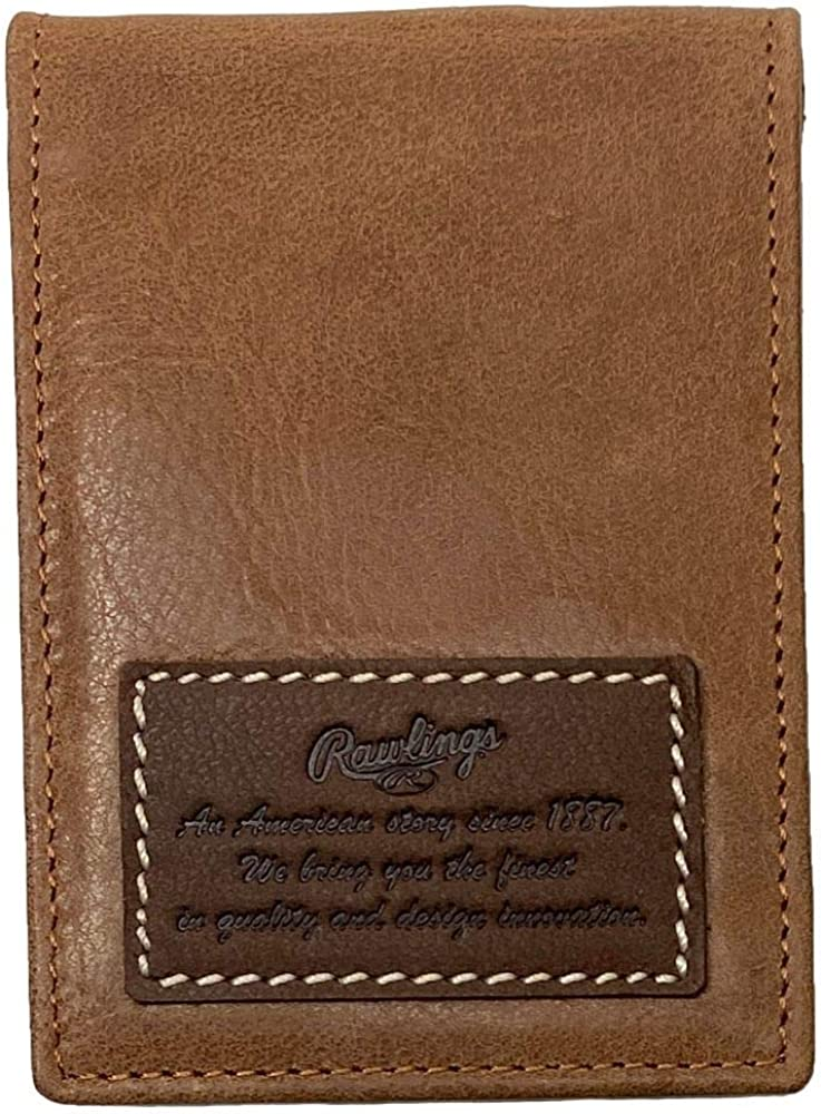 Rawlings American Story Front Pocket Leather Wallet For Men