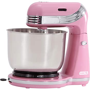 Dash Everyday Stand Mixer, Pack of 1, Pink