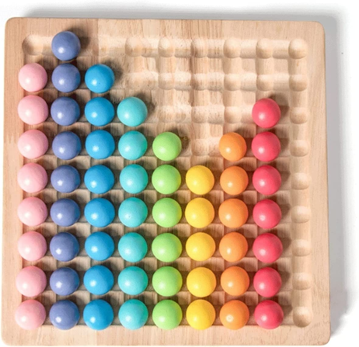Z-Color Rainbow Puzzle Game Childhood Focused Early Education Superior Dedication