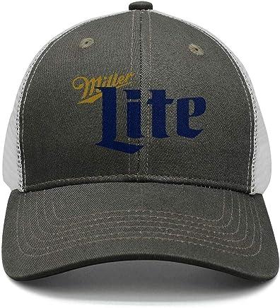 112a1b9c iorty rtty Caps Adjustable Fashion Miller-Lite-Beer- Designer Sun Hats