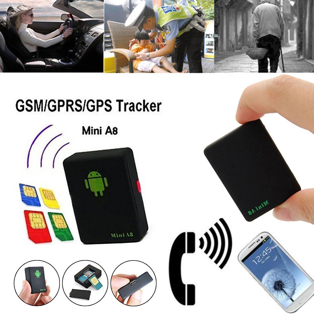New Mini Global Locator Real Time Car Kid Pet GPS Tracker GSM GPRS GPS Tracking