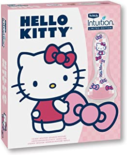 Schick Intuition Limited Edition Hello Kitty Advanced Moisture Razor, Includes Handle and 4 Refills