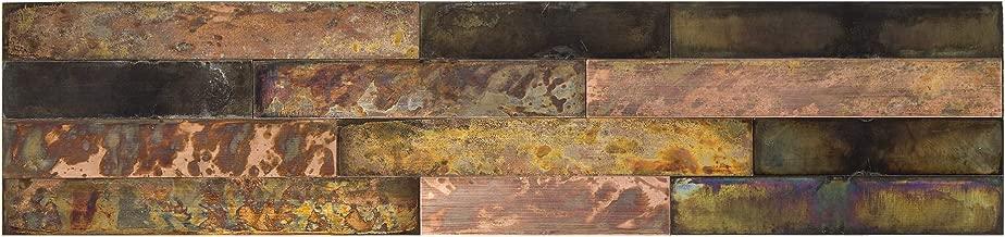 Aspect Peel & Stick Distressed Metal Panel (23.6