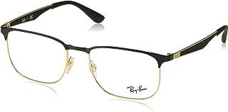 Ray-Ban RX6363 Square Metal Eyeglass Frames
