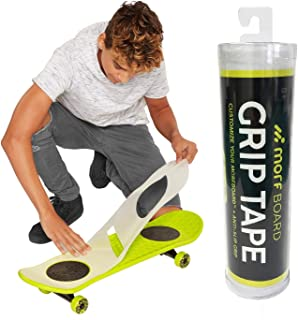 MORFBOARD Grip Tape, Super Sticky Anti-Slip Ghost Griptape Shaped to Custom Fit The Morf Board, Clear Color