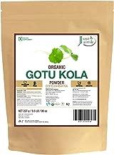 Just Jaivik 100% Organic Gotu Kola Powder, 1/2 Pound - 227g - USDA Organic - Centella Asiatica - Ayurvedic Herb for The Brain & Nervous System Also Known as Mandupakarni Powder and Brahmi Powder)