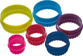 Plain and Fluted Round Cookie Cutters