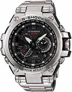 Casio - G-Shock MTGS1000D-1A reloj de cuarzo de acero inoxidable con esfera negra