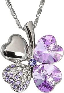 Best swarovski crystal clover necklace Reviews