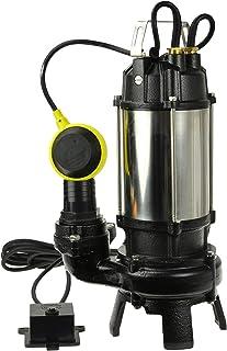 Bomba de Aguas Sucias - Bomba Sumergible con Trituradora y F