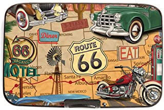 Route 66 RFID Armored Credit Card and Cash Wallet