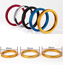 Vibrant Rings Thick Stainless Steel Ring Inner 40 45 50mm Ring Sex Men Delayed Casing Lock Delay Ring,Randon Color 45mm