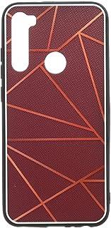 جراب خلفي قوى ثلاثي الابعاد بحواف سيليكون لشاومي ريدمي نوت 8 - متعدد الالوان