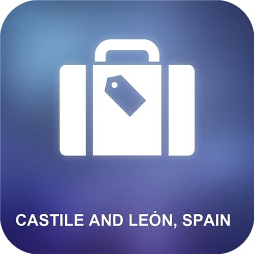 Castilla y León, España Mapa