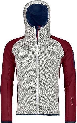 Ortovox Fleece Plus Classic Knit HDY M Veste Homme