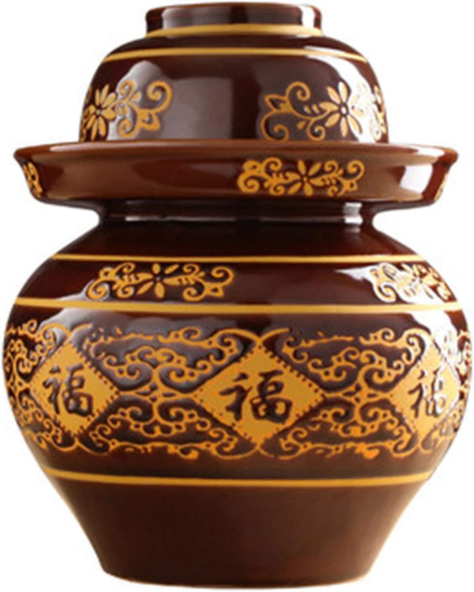 Ceramic Pickle Jar Indianapolis Mall Sauerkraut Ranking TOP14 Sealed Earthenware Mat Thick