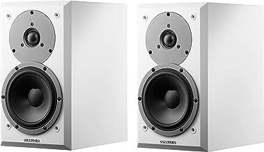 Dynaudio Emit M10 Compact Bookshelf Loudspeakers Satin White Pair