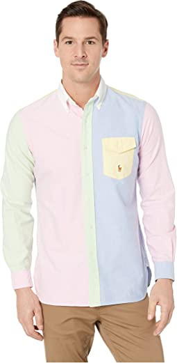 Oxford Long Sleeve Classic Fit Sport Shirt