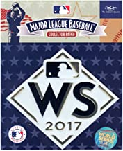 2017 MLB World Series Astros vs. Dodgers Embosstech Collectors Sleeve Patch