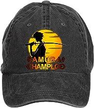 Jidlg Unisex Men Cotton Samurai Champloo Symbol Poster Adjustable Baseball Cap