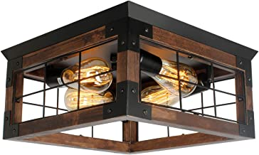 Amazon Com Country Kitchen Ceiling Light Fixtures
