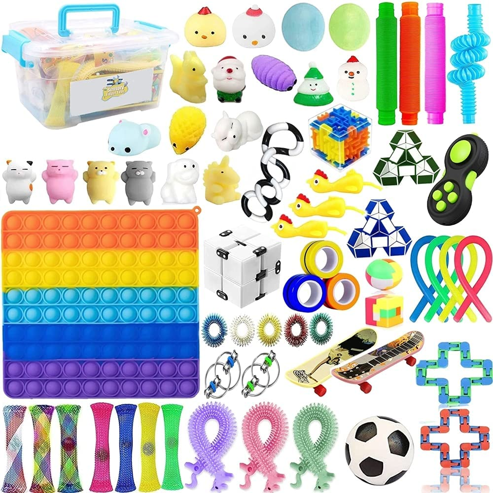 Kzidro Fidget Toys – Stress Relief Focus Price reduction â Cash special price Calm for