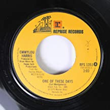 Emmylou Harris 45 RPM One of These Days / Till I Gain Control Again