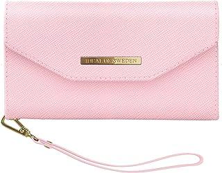 IDEAL OF SWEDEN Mayfair Handytaschen Clutch für iPhone 11 (Saffiano Vegan Leather) (Pink)