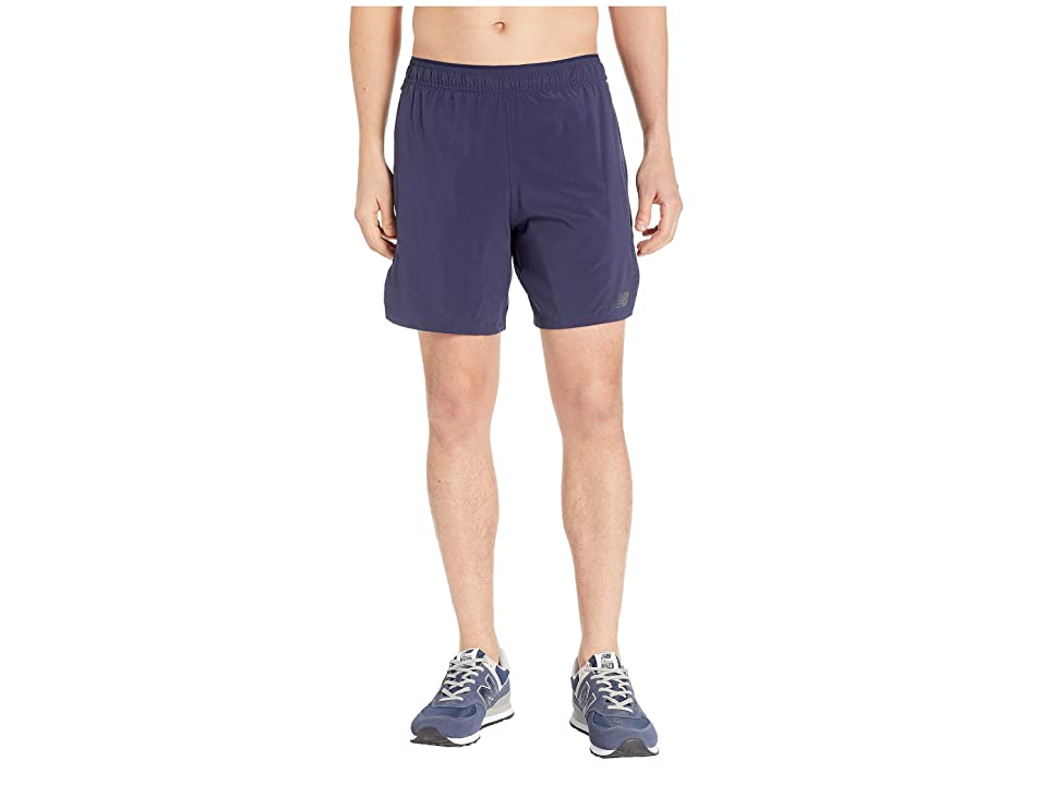 New Balance Transform 2-in-1 Shorts (Pigment/Black) Men