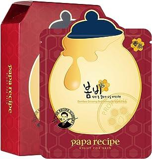 Paparecipe Bombee Ginseng Rood Honing Olie Masker 10st