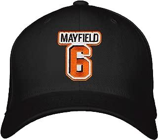 Baker Mayfield Hat - Cleveland Football Black Adjustable Snapback Cap
