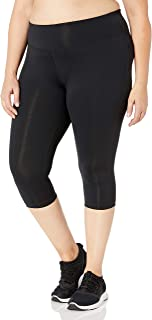 Rainbeau Curves Women's Plus Size Premier Basix Nylon Capri