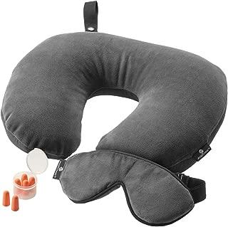 Eagle Creek Travel Pillow, Ebony, 27.5 Centimeters 104EC0A34OV1561004