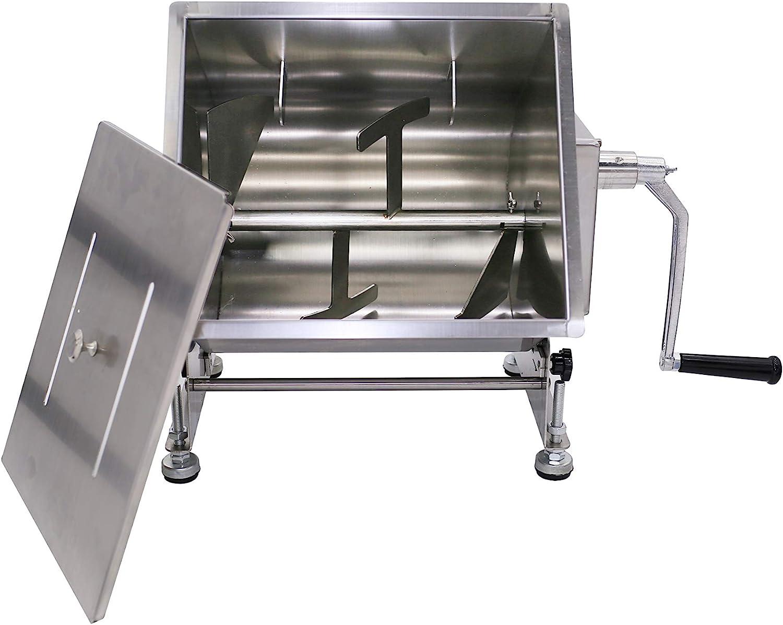 Hakka 30-Pound 15-Liter Capacity Tilt Mixers Meat Tank Genuine excellence Free Shipping Manual