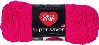 RED HEART Super Saver Yarn, Solid - Grenadine