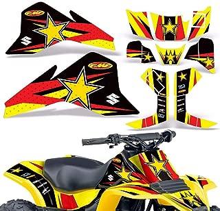 Wholesale Decals ATV Graphics kit Sticker Decal Compatible with Suzuki LT80 1987-2006 & KFX80 2003-2006 - Bold Race