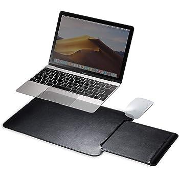 サンワダイレクト ひざ上テーブル ノートPC タブレット 13.3型まで対応 薄型&軽量366g 持ち運び用 収納式マウスパッド ブラック 200-HUS010
