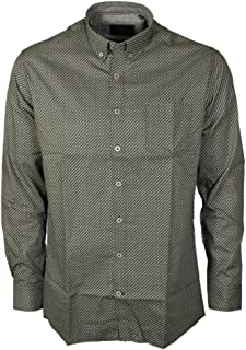 Kam Mens Long Sleeve Shirts Button Down Collar Smart Semi Casual Meantime Oxford