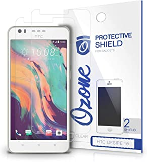 Ozone HTC Desire 10 Crystal Clear HD Screen Protector Scratch Guard (Pack of 2)