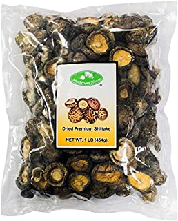 Mushroom House Dried Shiitake Mushrooms, 1 Pound