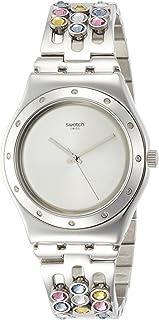 Swatch Women's Watch YLS196G, silver