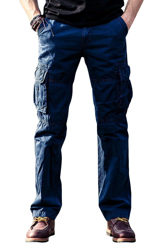カーゴパンツ メンズ ミリタリー 作業着パンツ アウトドア ワークパンツ 大きいサイズ アウトドア 男性 ファション 長ズボン 6色